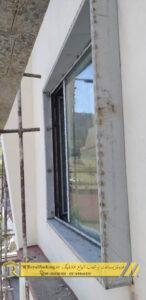 اجرای فلاشینگ دور پنچره ( قاب پنجره ) توسط رویال فلاشینگ
